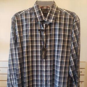 Men's BUFFALO Long Sleeve Button Down Shirt